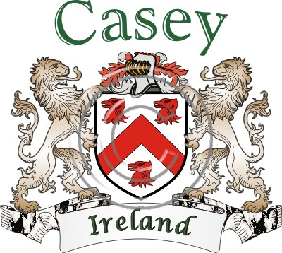 Casey Coat Of Arms Name History
