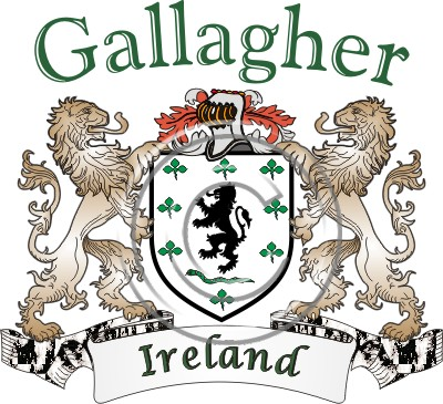 Help Desk Name Histories Coat Of Arms Gallagher Name History