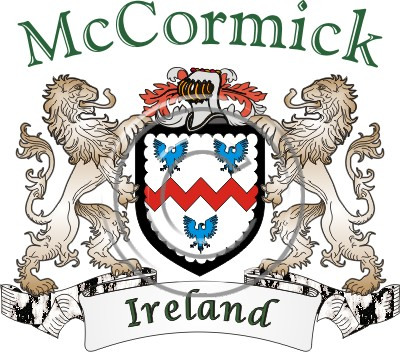 Help Desk Name Histories Coat Of Arms Mccormick Name History