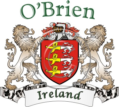 O'BRIEN tribes around the world | Ireland