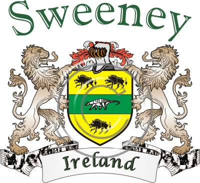 More About Sweeney Family Crest And Name History