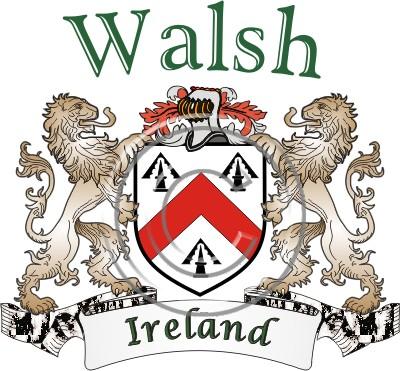Walsh Name History Coat Of Arms